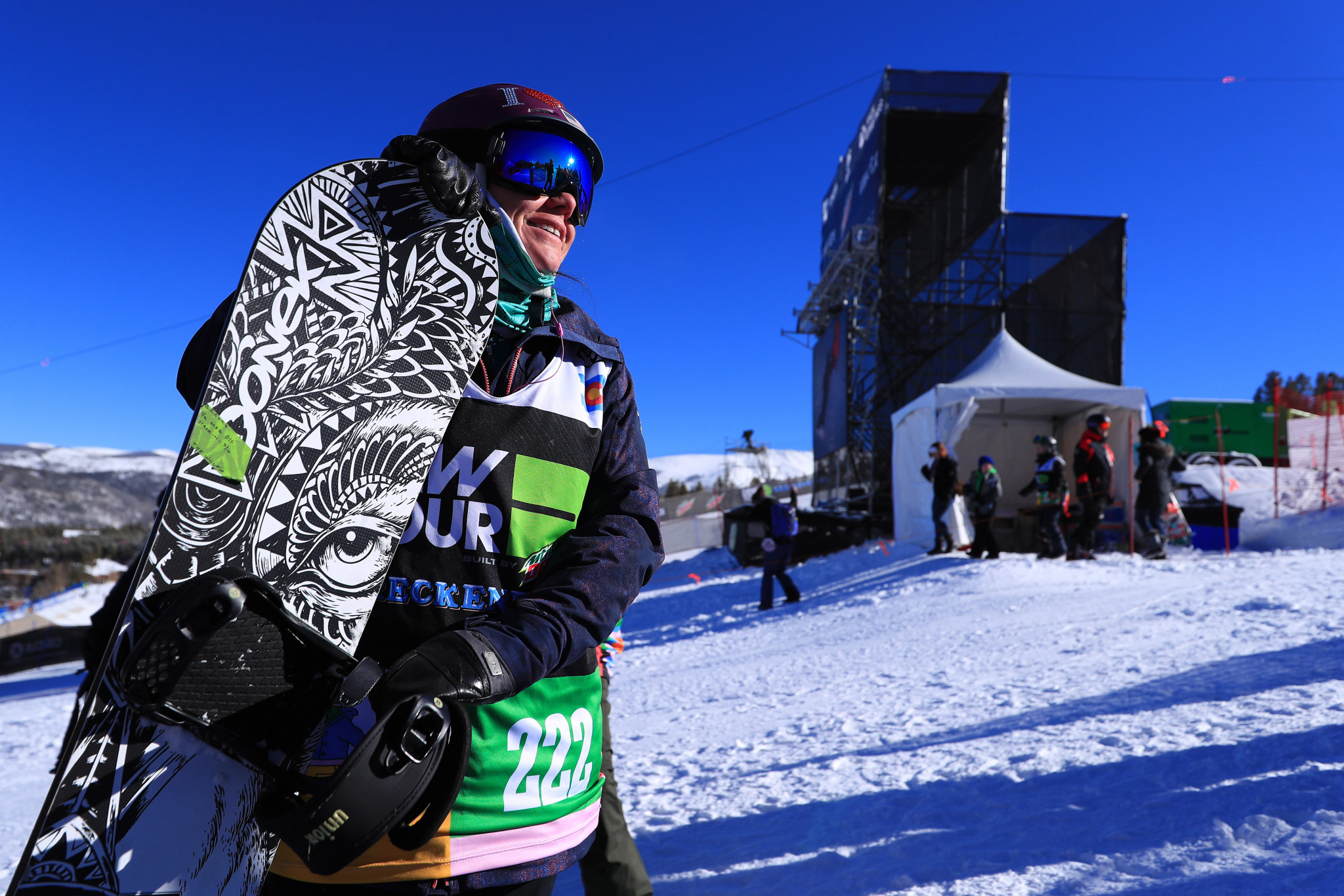 Paralympic snowboarder Coury to help coronavirus patients in nursing career