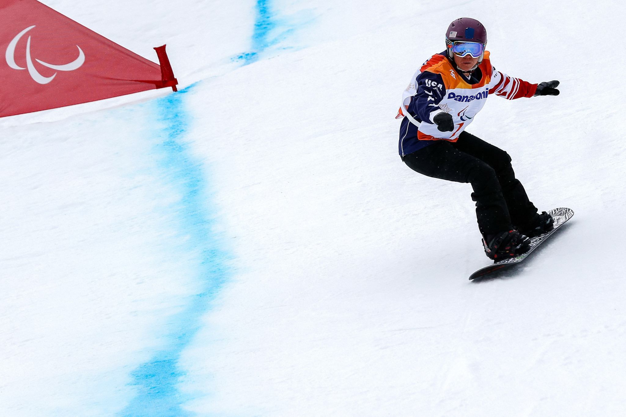 Brittani Coury won a silver medal at the Pyeongchang 2018 Winter Paralympics ©Getty Images
