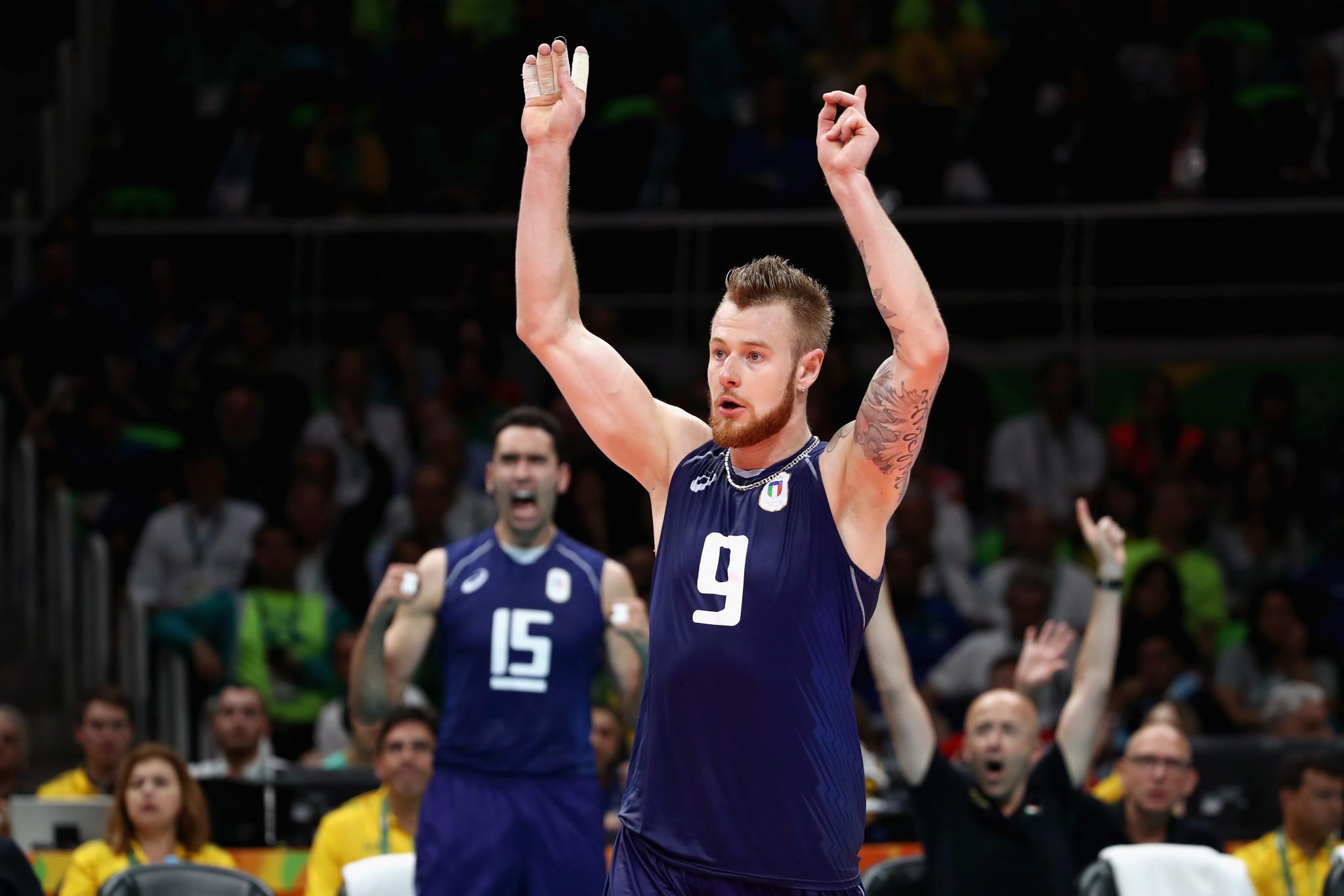 "Italian volleyball star Zaytsev to enjoy ""breather"" after Tokyo 2020 postponement"