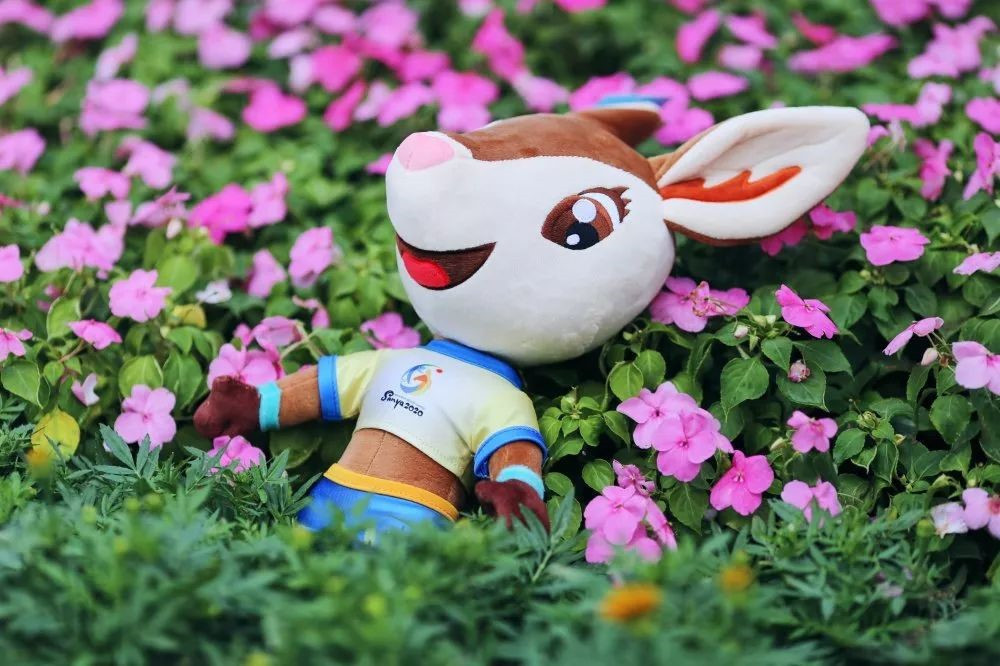 Ya Ya the deer is the mascot for the Sanya 2020 Asian Beach Games which are scheduled for November and December ©Sanya 2020