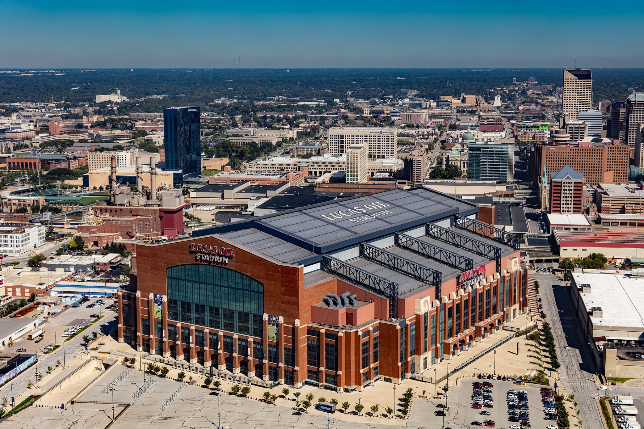 Next year's NCAA Final Four tournament is set to take place at Lucas Oil Stadium in Indianapolis ©Wikipedia