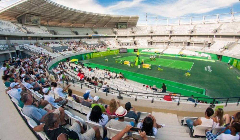 Brazilian stars hail Rio 2016 Olympic Tennis Centre following inauguration event