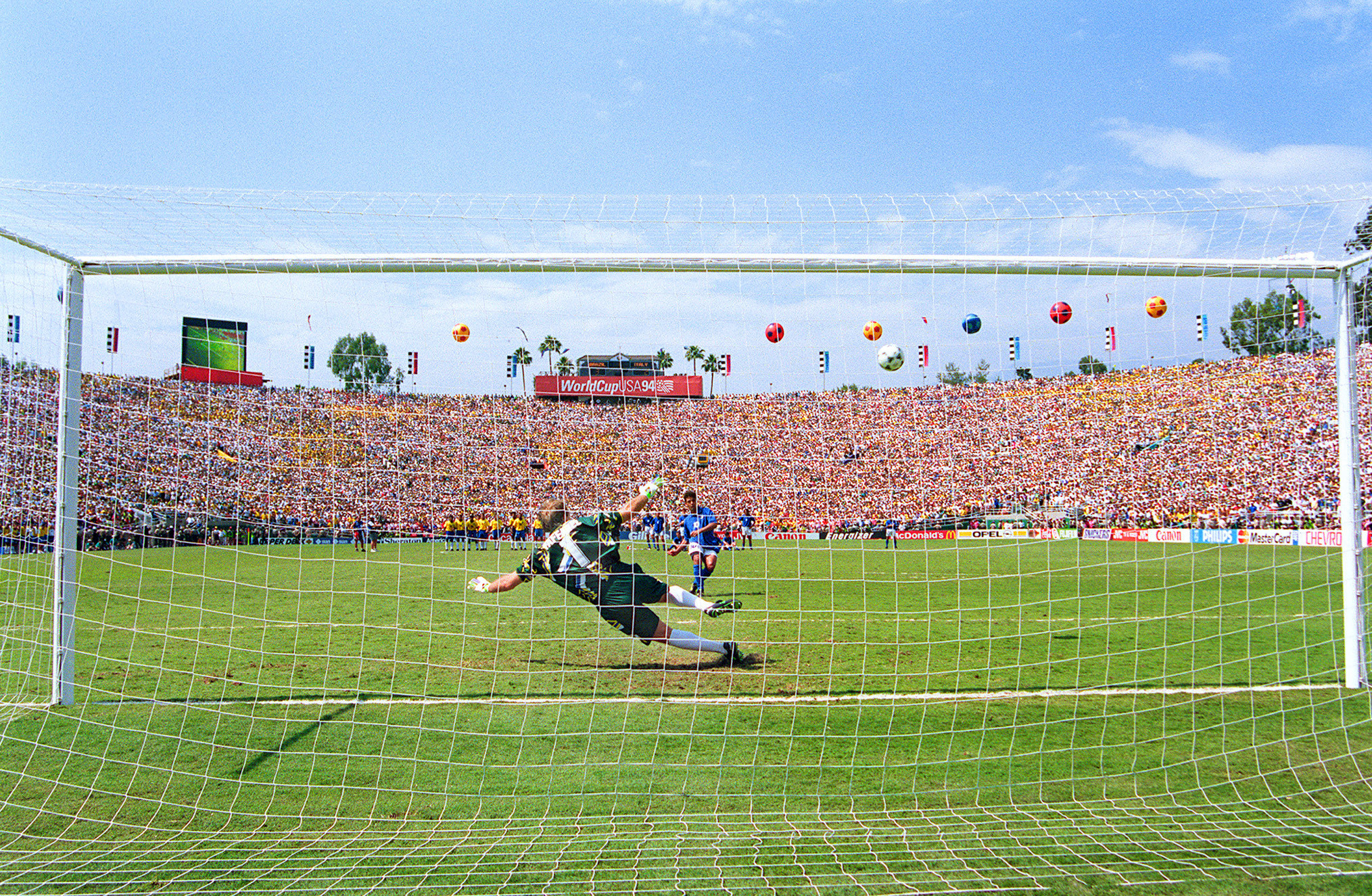 The Rose Bowl was the scene of the 1994 FIFA World Cup final ©Getty Images