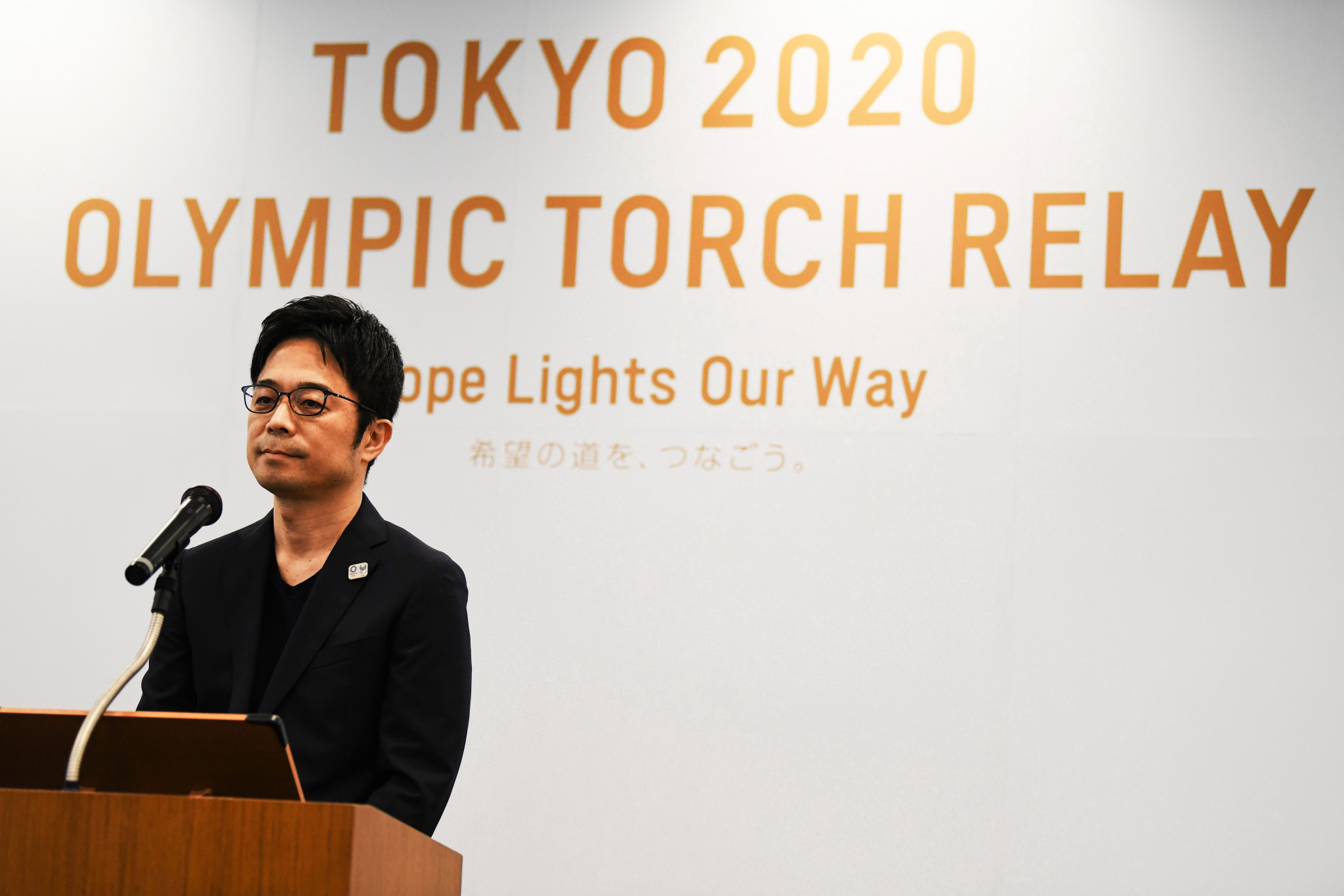 Tokyo 2020 Torch designer creates DIY face visor to help protect health workers