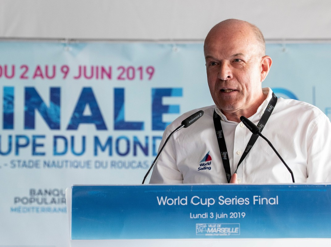 Andersen hits back at critics after confirming intention to seek second term as World Sailing President