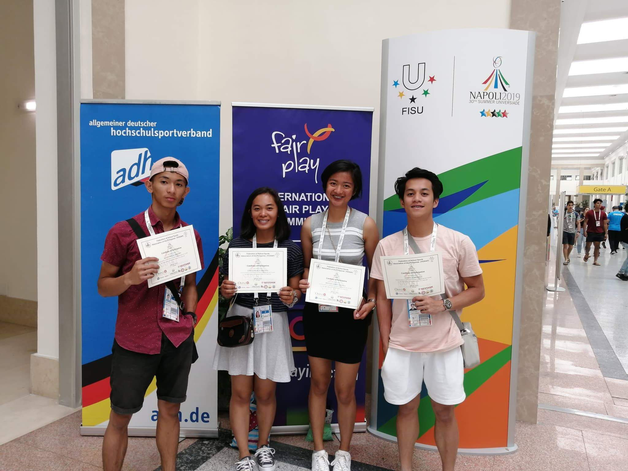 Philippines seeing benefits of drive to keep students involved in sport after university