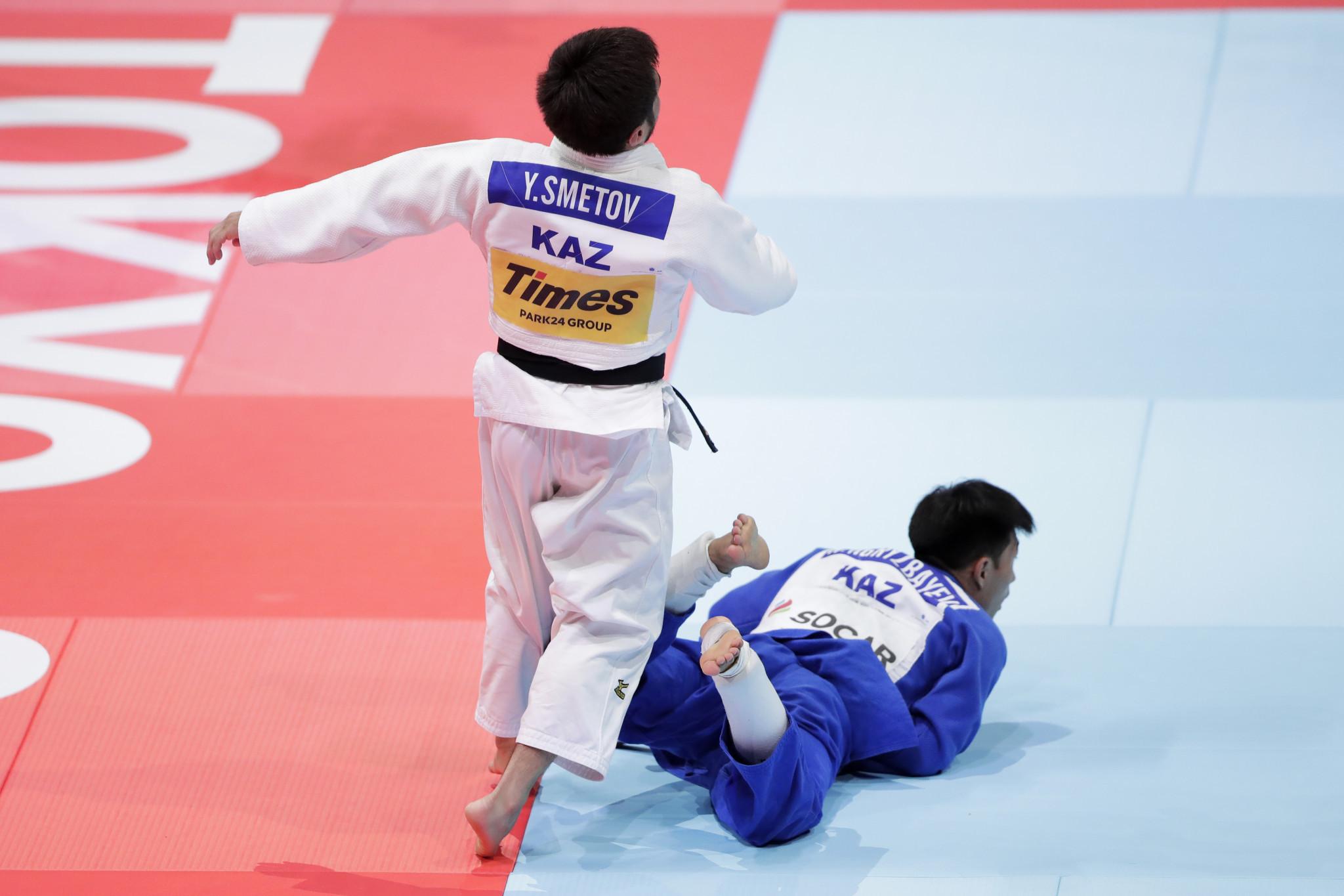 Makhmutov Beket was a huge figure in Kazakh judo ©Getty Images