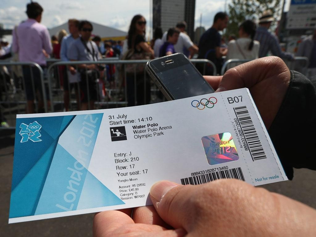 Many fans complained about the lack of tickets available at London 2012, while the build-up was marked by controversy over those available on the black market ©Getty Images