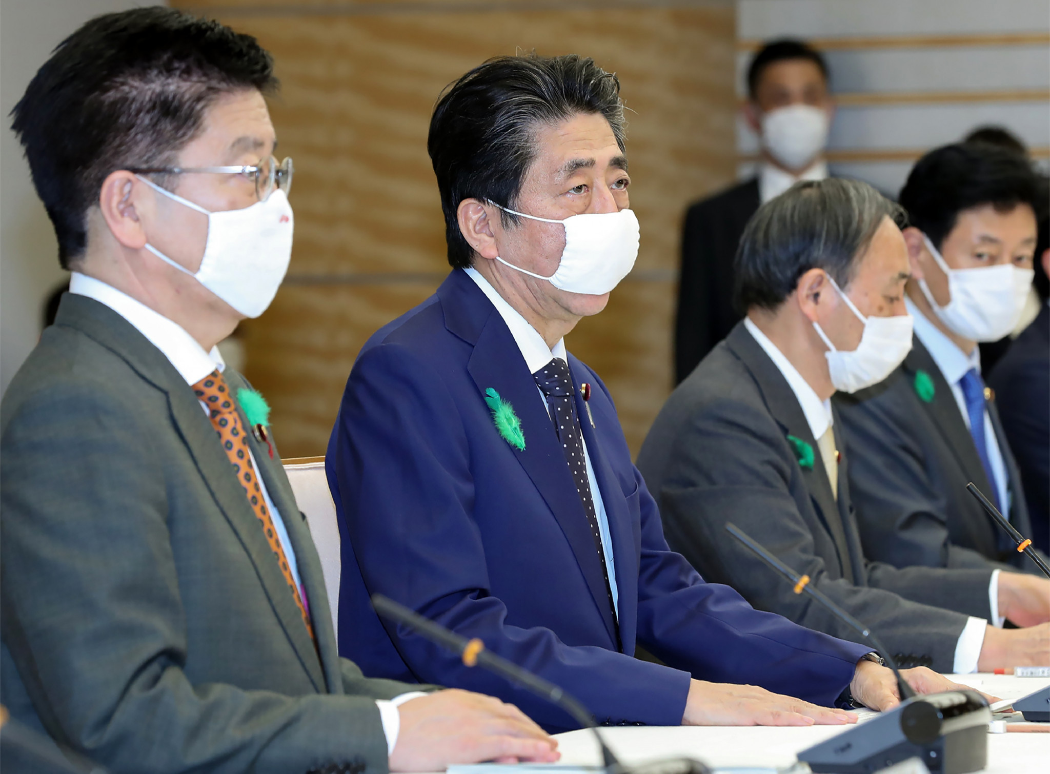 Japanese Prime Minister Shinzō Abe has extended the country's state of emergency nationwide ©Getty Images