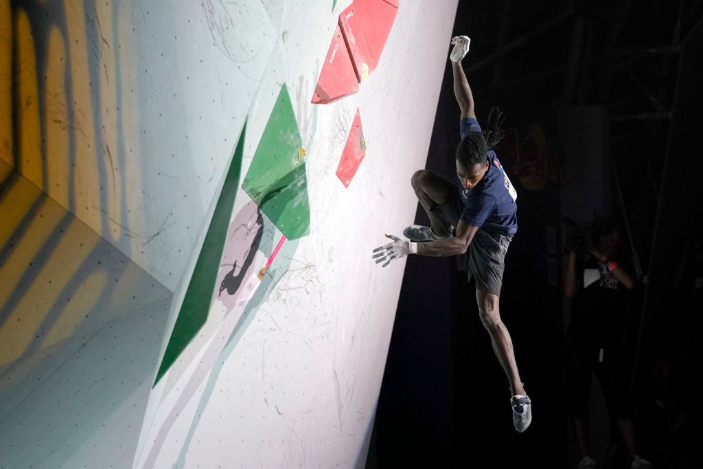 Sport climbers could compete for Olympic and World Championships glory within the space of six weeks ©Getty Images