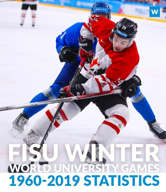 FISU releases updated Winter World University Games statistics book