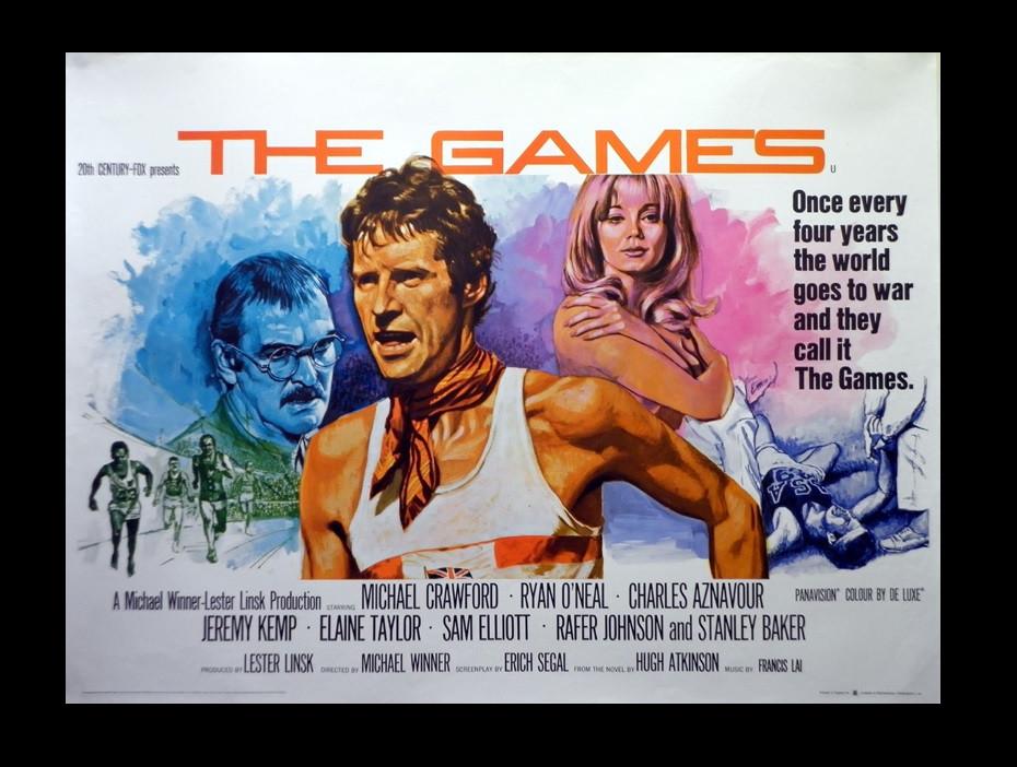 Fifty years ago, Twentieth Century Fox released The Games on a fictional Olympic marathon © IMDB