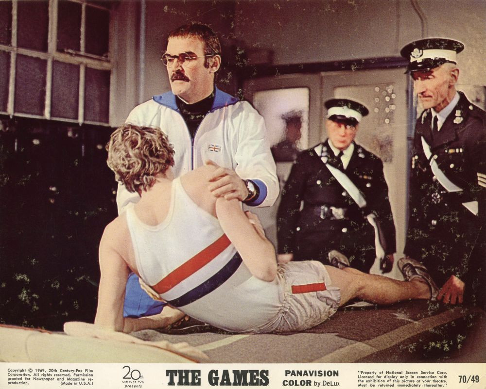 Michael Crawford and Ryan O'Neal were among the stars of The Games, released in April 1970 © IMDB