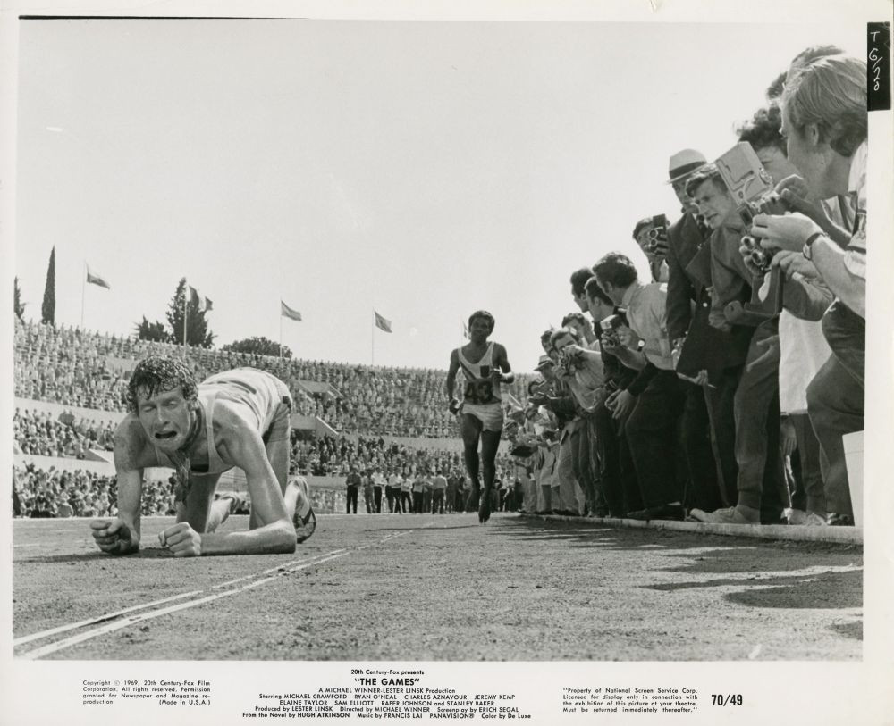 The shooting of the fictional Games marathon took place at the Stadio Olimpico in Rome © IMDB
