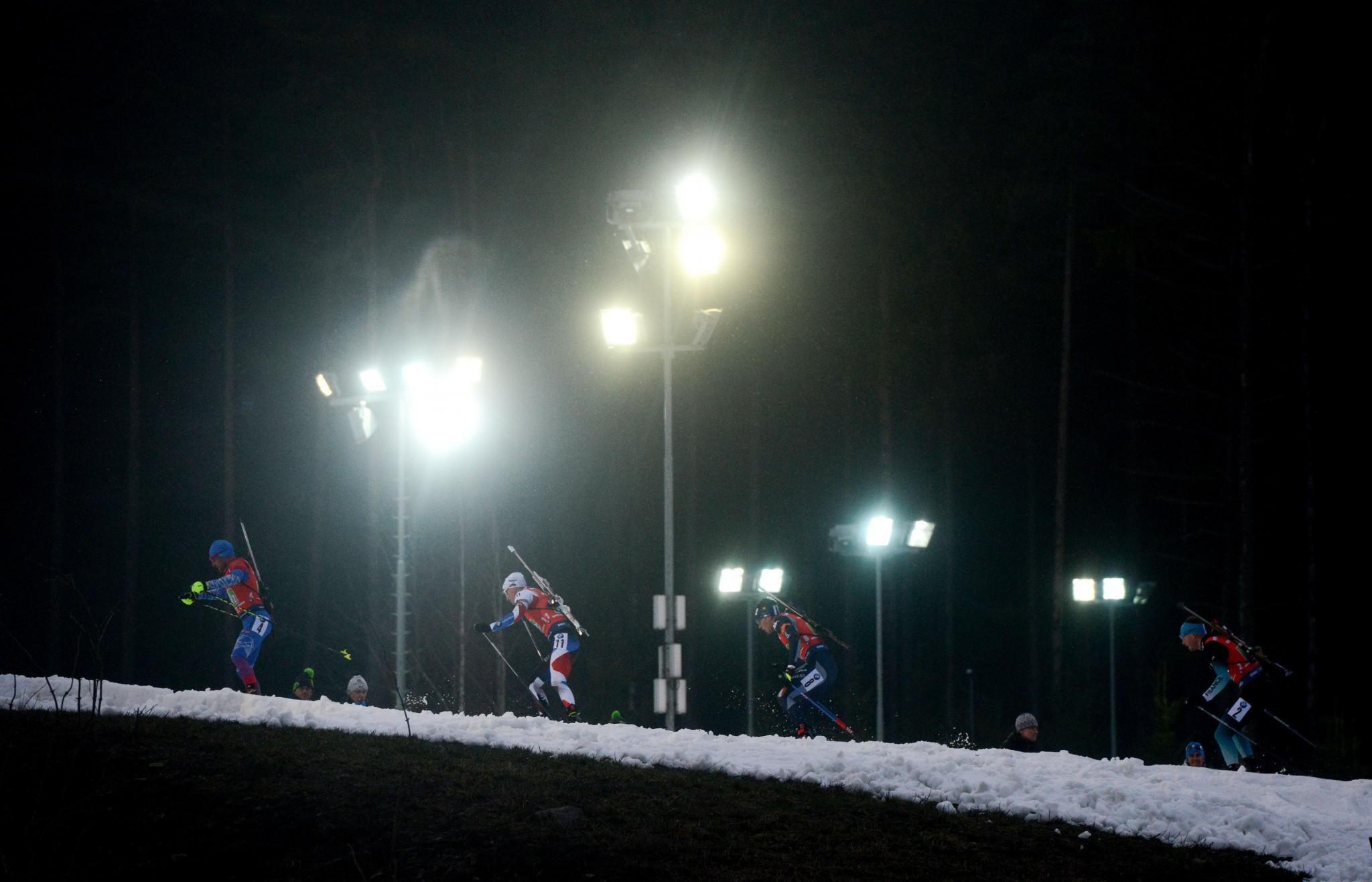 The three athletes competed at IBU Cup level last season ©Getty Images