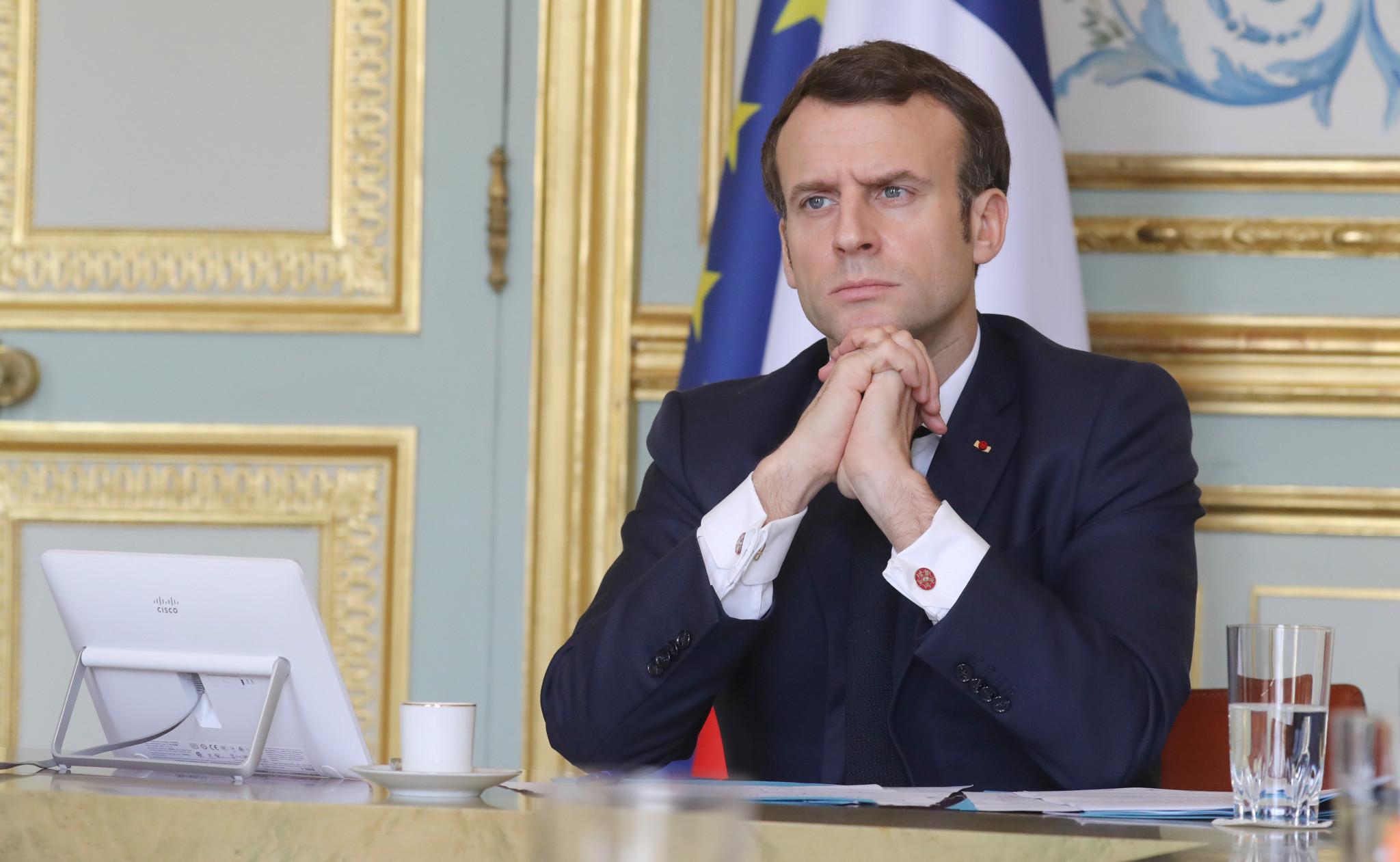 Macron pledges to rebuild Notre-Dame by Paris 2024 despite recent delays