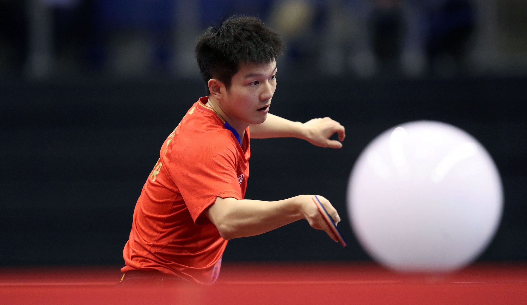 Fan Zhendong returns to the top of the men's world rankings ©Getty Images