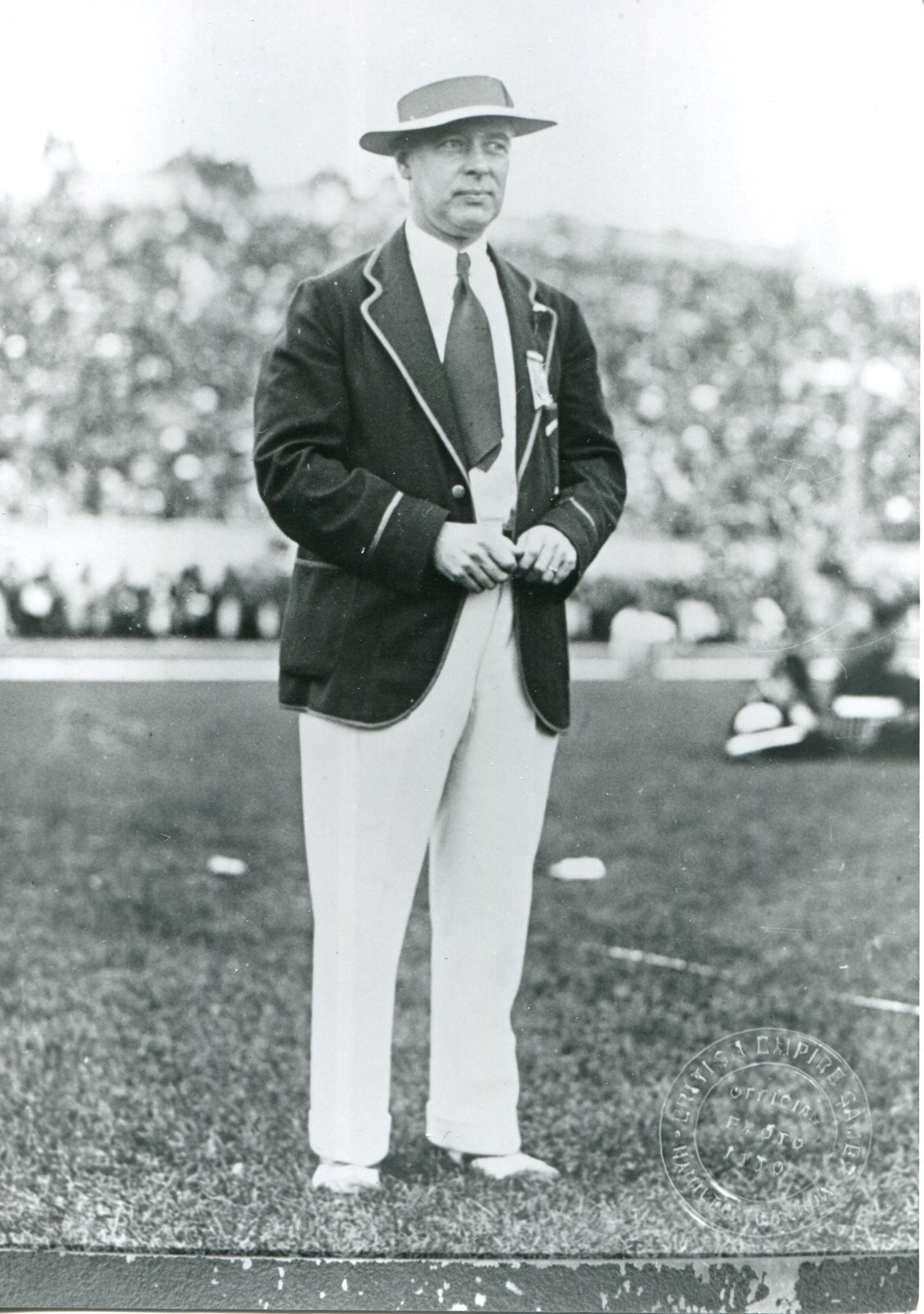 Bobby Robinson was a driving force behind the first Empire Games of 1930 ©Burlington Historical Society