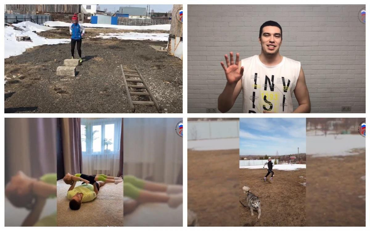Russian Para athletes share home workouts online during COVID-19 pandemic