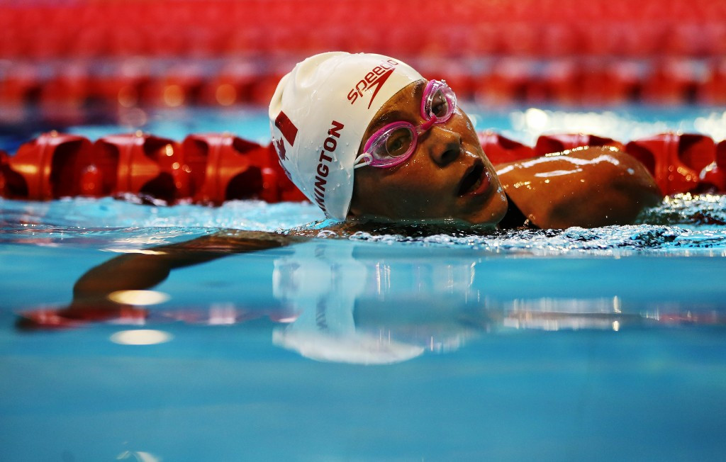 Cunnington breaks world record as Canadian swimmers impress at US Paralympics Swimming Open