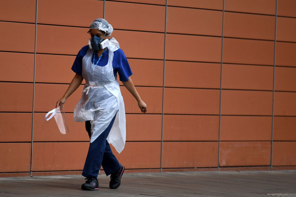 The British Government has faced criticism over a shortage of PPE ©Getty Images