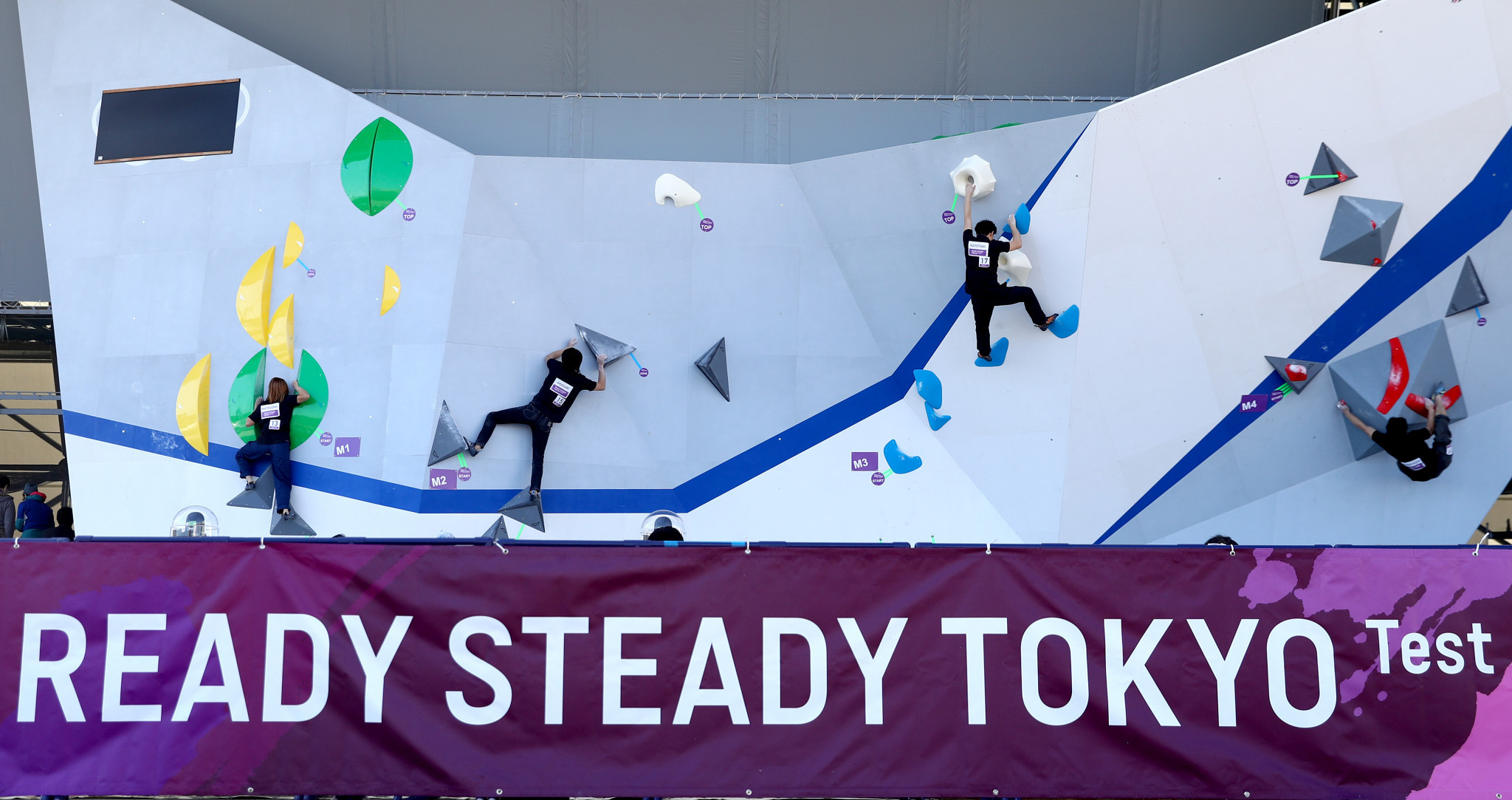 Sport climbing must wait to make its Olympic debut ©Getty Images