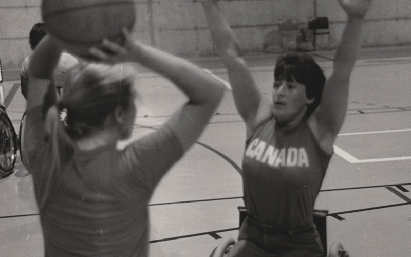 Joanne MacDonald has been inducted into the Wheelchair Basketball Canada Hall of Fame ©WBC
