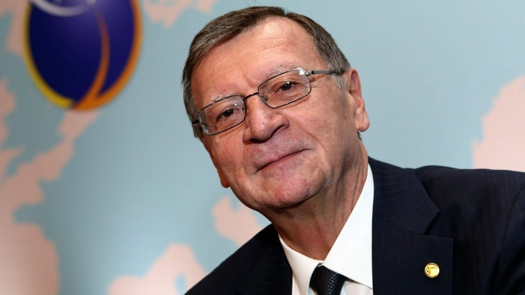 Aleksandar Boricic was elected CEV President in October ©CEV