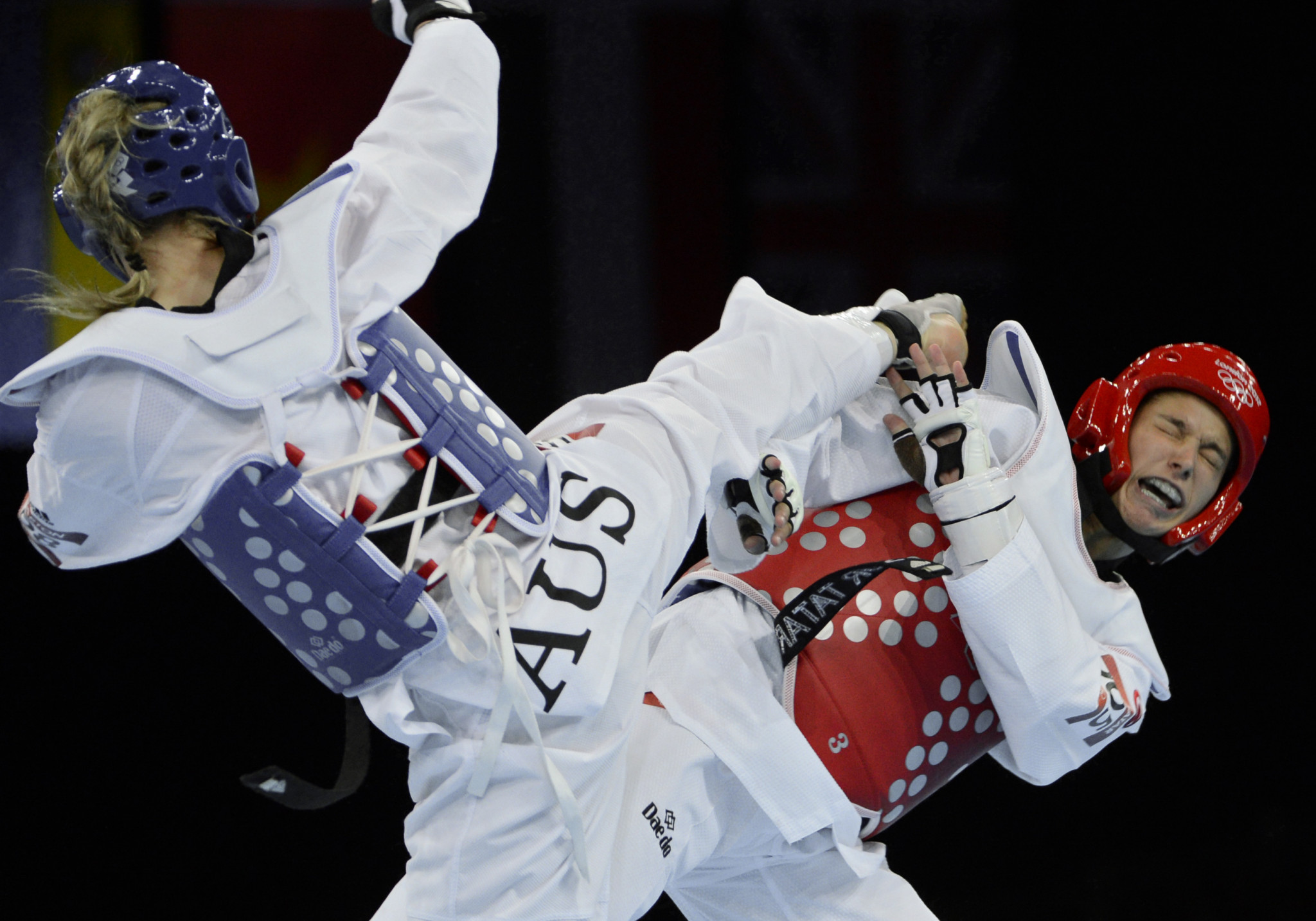 Leanne Cunnold has taken on the important role in Australian taekwondo ©Getty Images