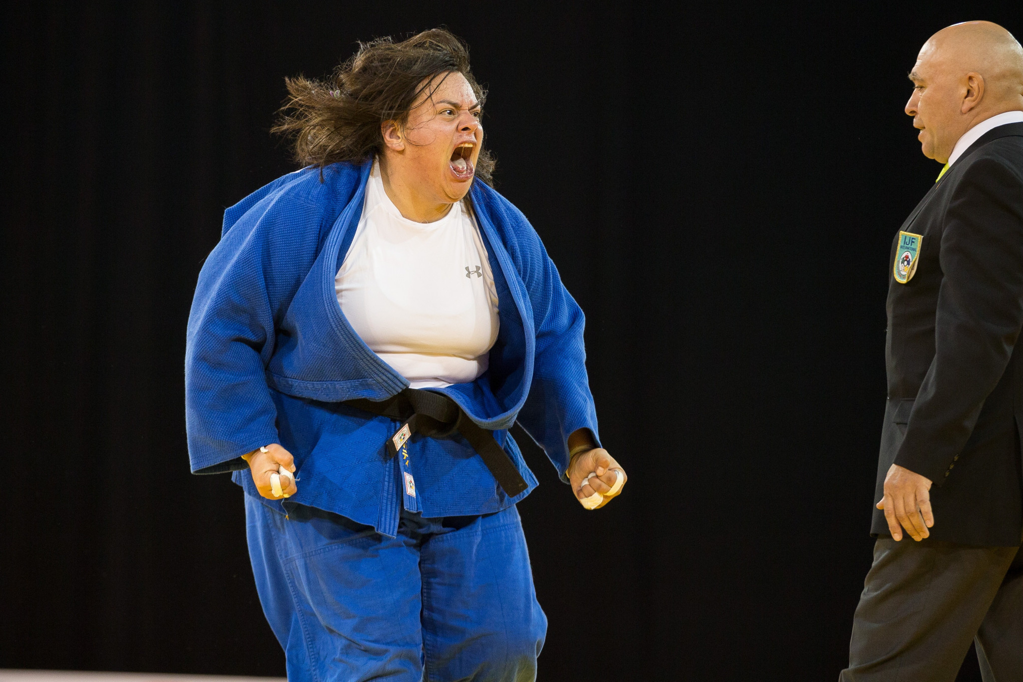 Vanessa Zambotti has three Pan American Games medals in judo ©Getty Images