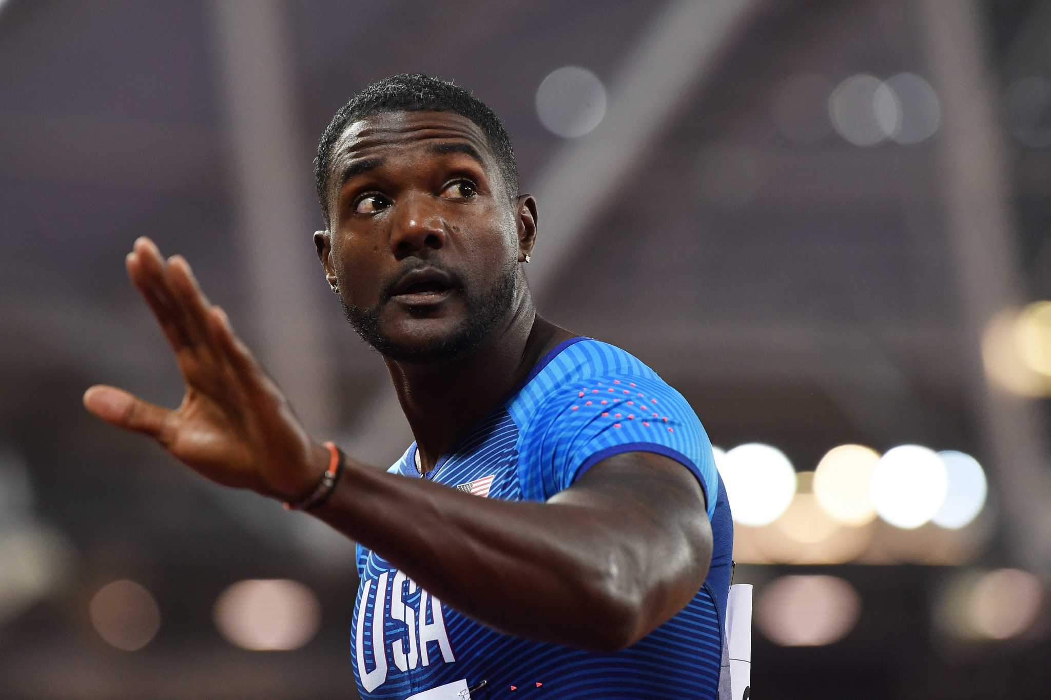 Robert Wagner has claimed Justin Gatlin and