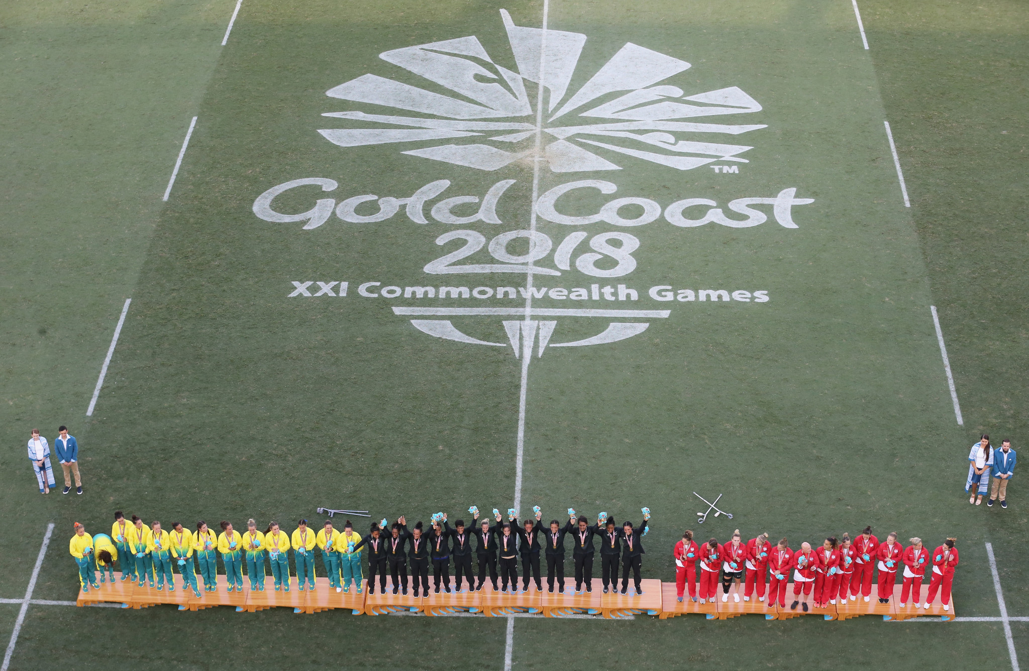 Facilities used at the Gold Coast 2018 Commonwealth Games are expected to be included in a Queensland Olympic bid ©Getty Images