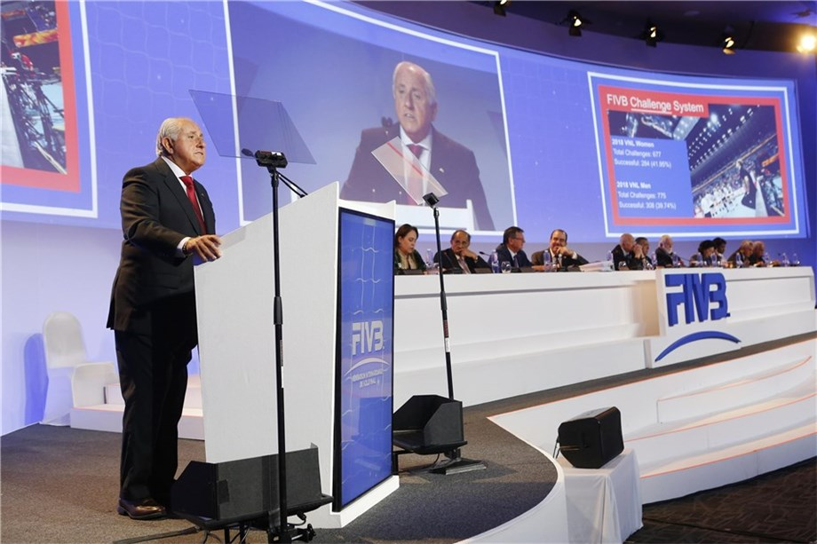 FIVB confirms World Congress to move to January due to coronavirus