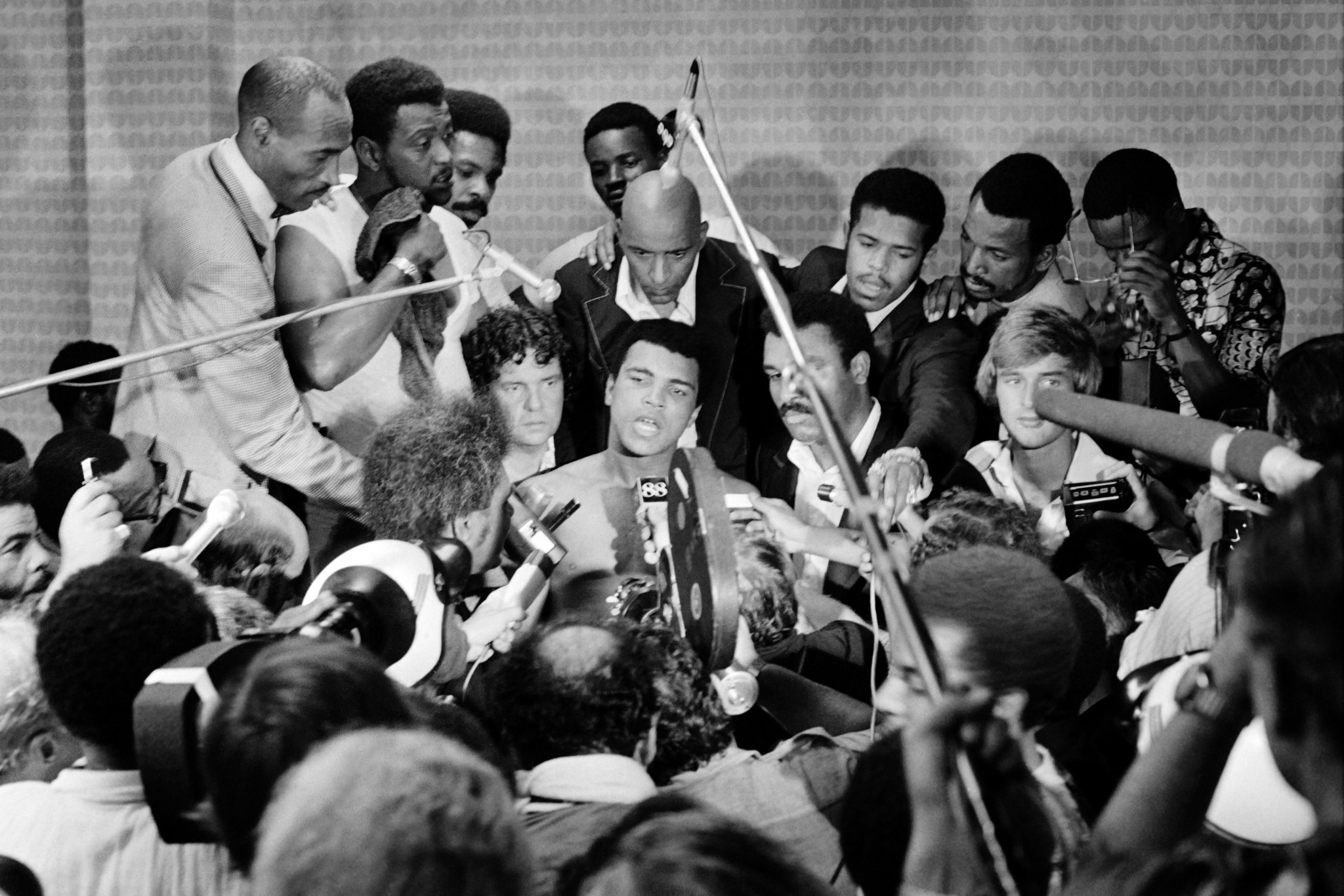 Following Muhammad Ali across the globe was a media man's dream ©Getty Images