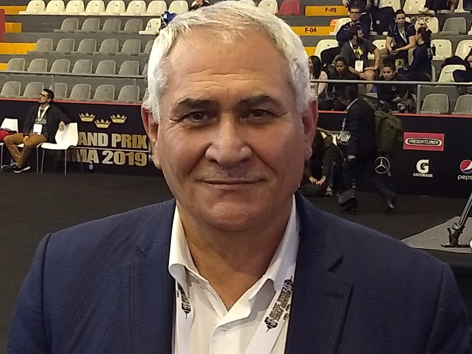 International Weightlifting Federation secretary general Mohamed Jaloud, because he is from Iraq, may not be eligible to stand at the next elections ©ITG
