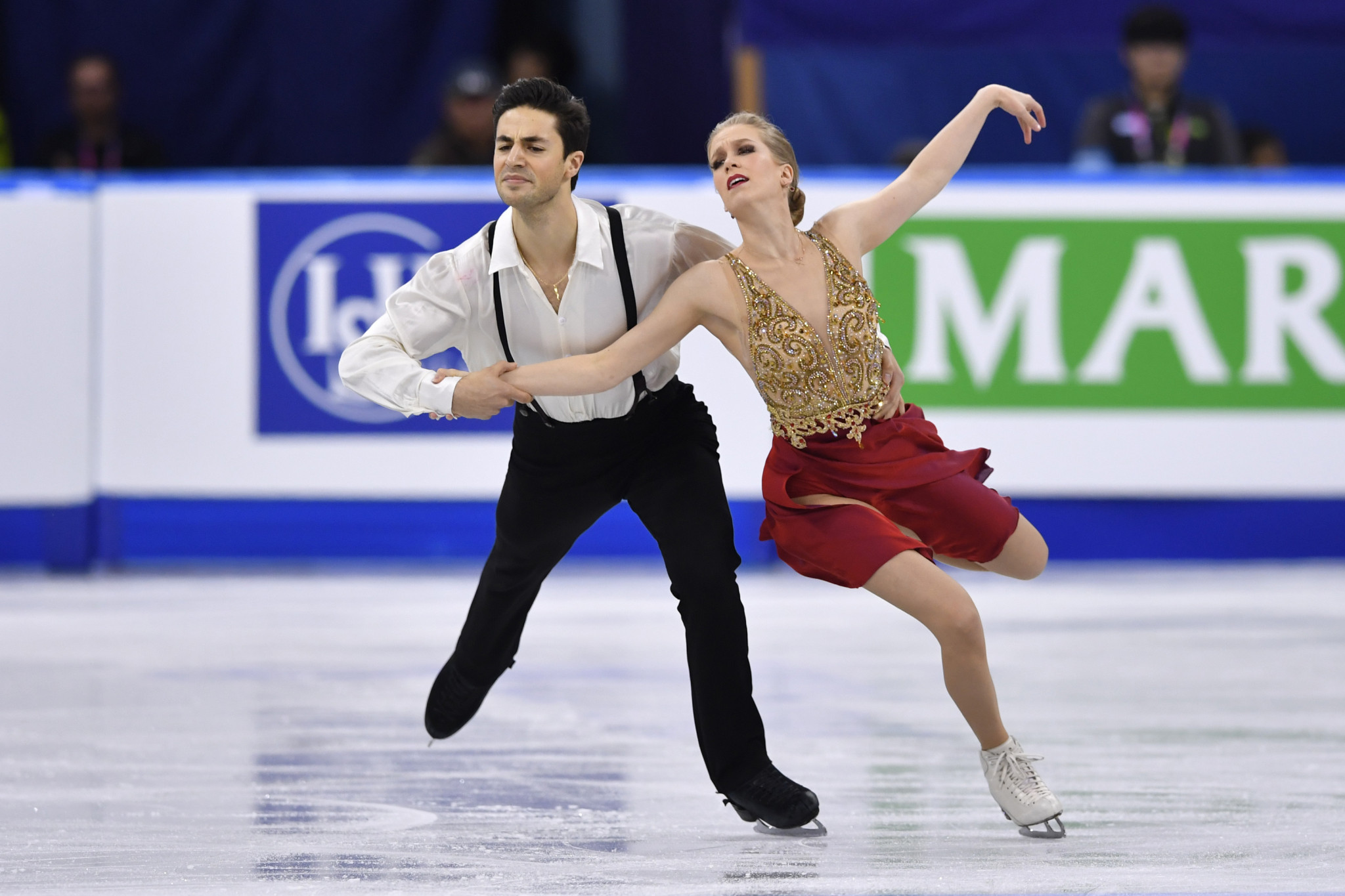 Kaitlyn Weaver won three World Championship medals in ice dance alongside Andrew Poje ©Getty Images