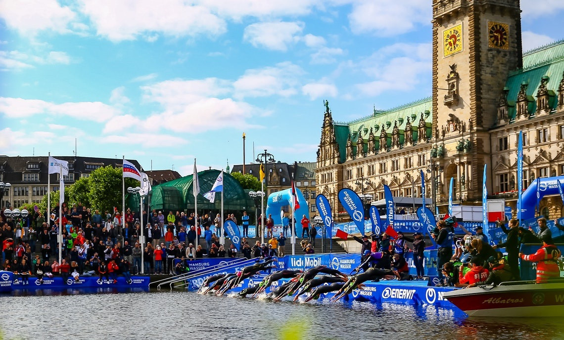World Triathlon Series in Hamburg to crown season's world champions