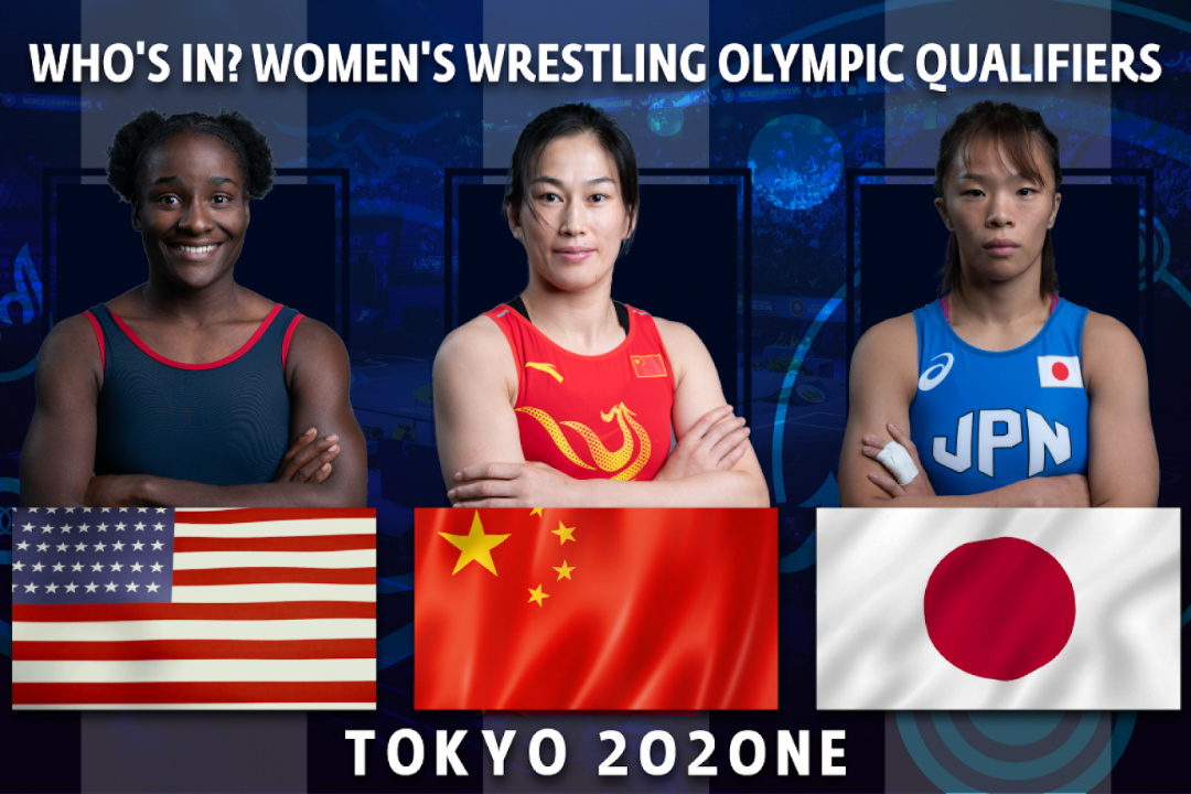 UWW featured some of the wrestlers qualified for the Games  ©UWW
