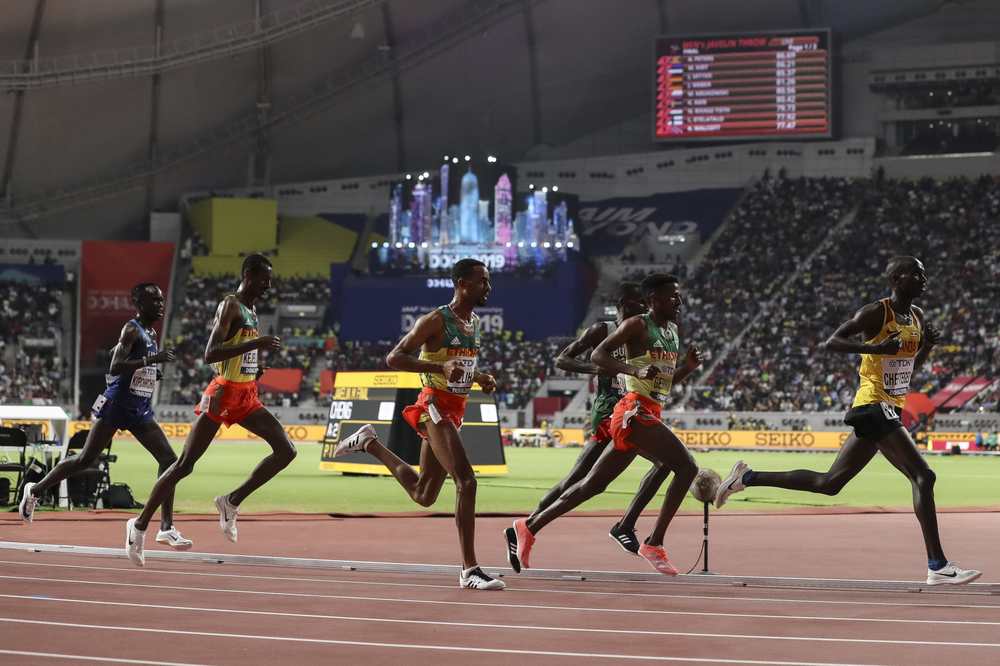 Doha hosted the World Athletics Championships last year ©Getty Images