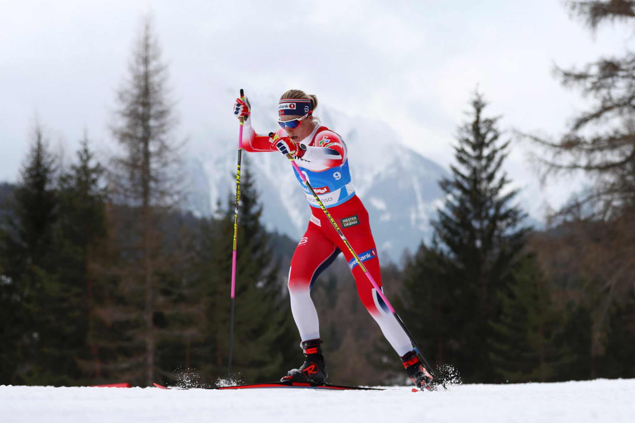 Pyeongchang 2018 Winter Olympic Games cross-country relay champion Astrid Uhrenholdt Jacobsen announced her retirement in order to continue her medical studies ©Getty Images