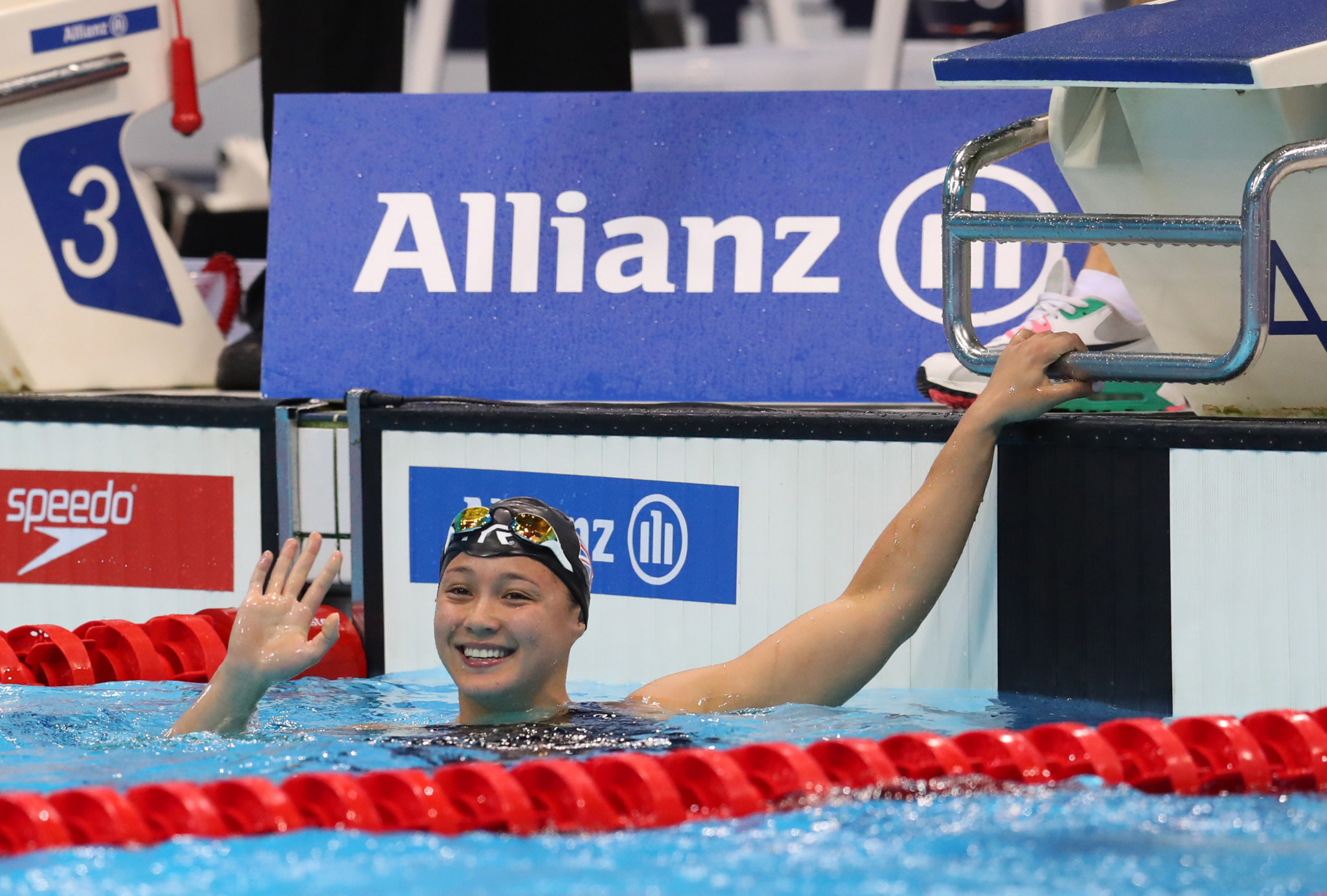 Para-swimming world champions Tai and Barlaam share lockdown experiences