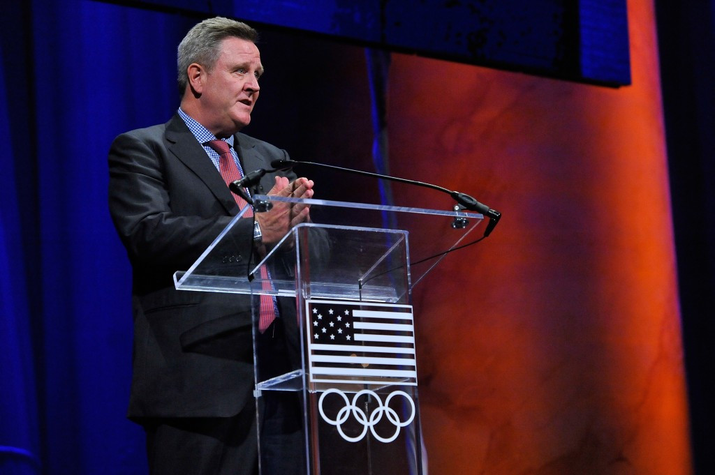 "United States Olympic Committee Chief Executive Scott Blackmun said that ""you cannot skimp on security"""