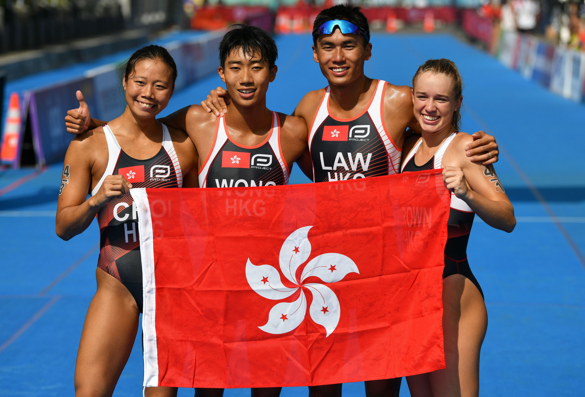 Two Hong Kong Triathlon Association coaches have left the organisation ©Getty Images