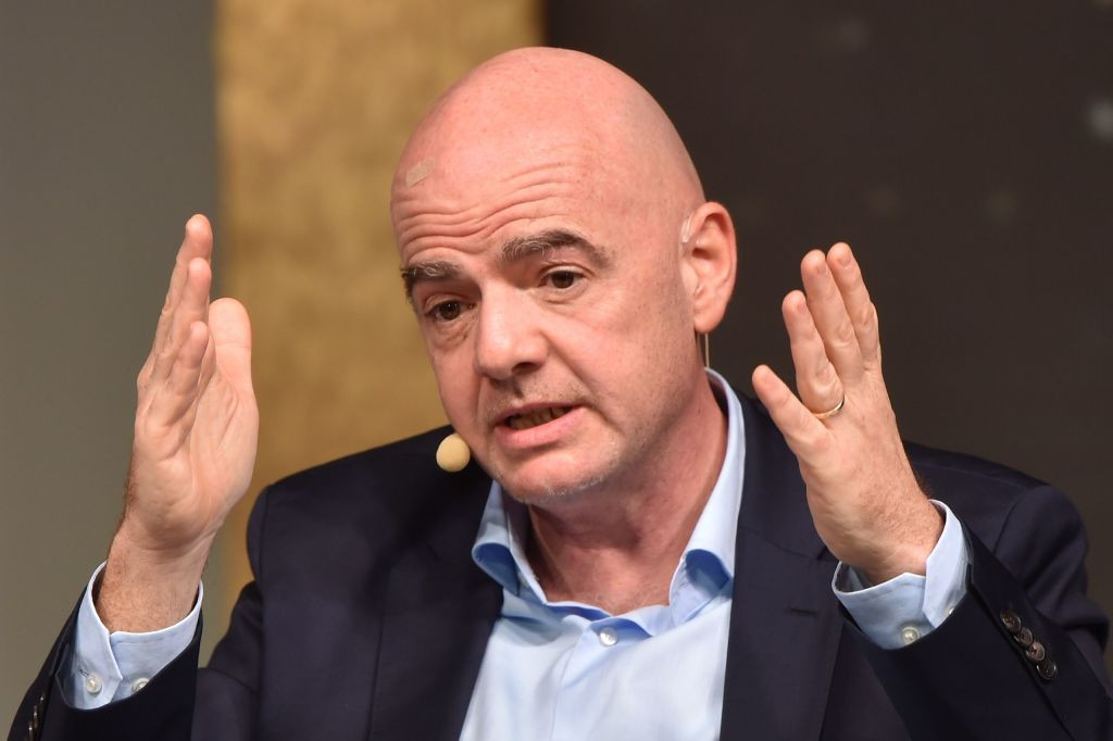 FIFA President Gianni Infantino said some members are experiencing severe financial distress as a result of the pandemic ©Getty Images