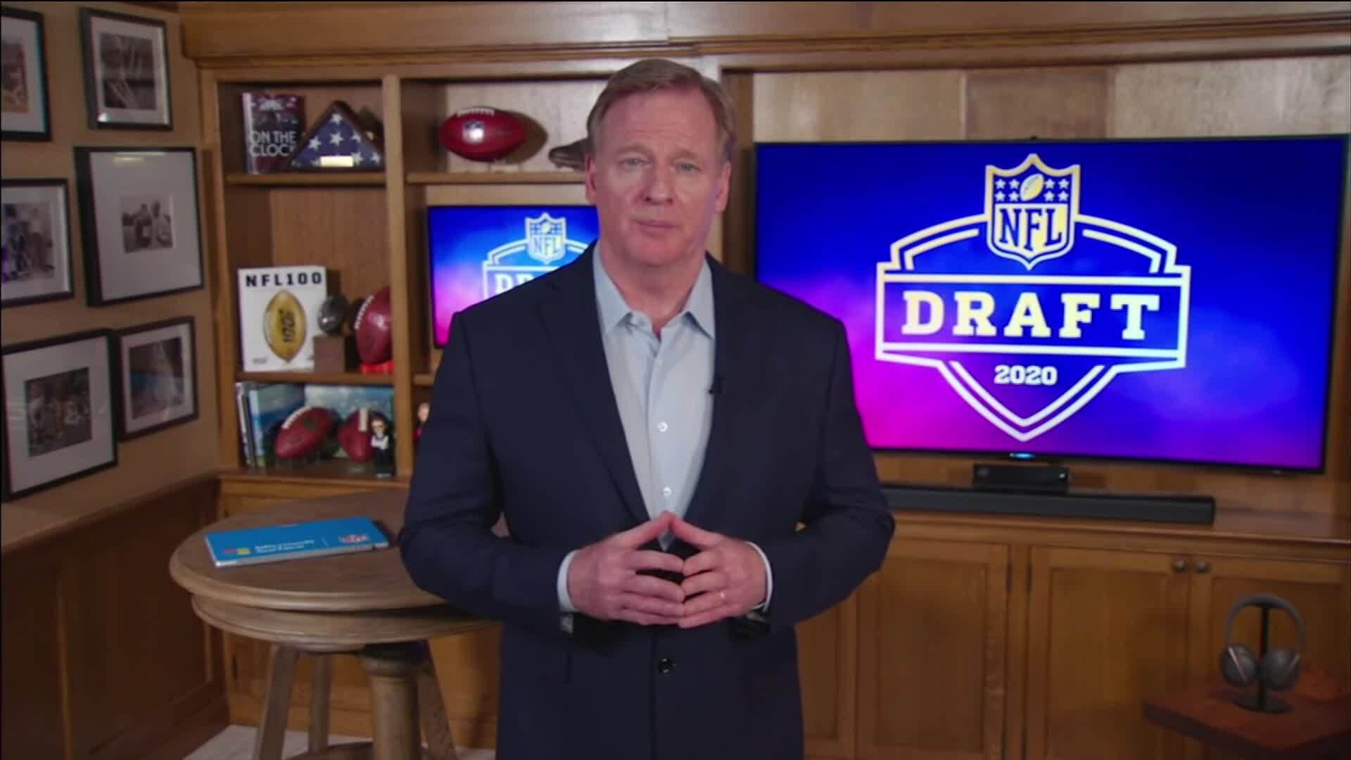 NFL Draft breaks viewing records as it is held remotely
