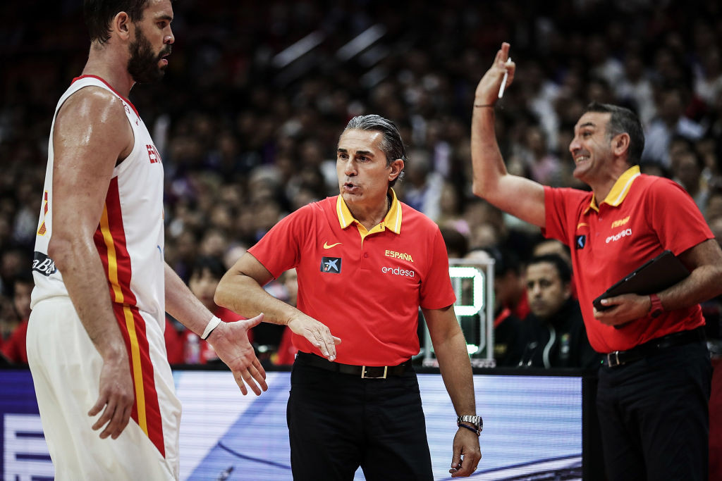 The Italian coach has also guided Spain to two Olympic medals ©Getty Images