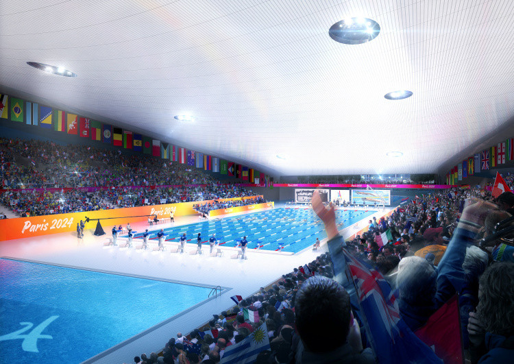 Paris 2024 reportedly considering two proposals for aquatic centre