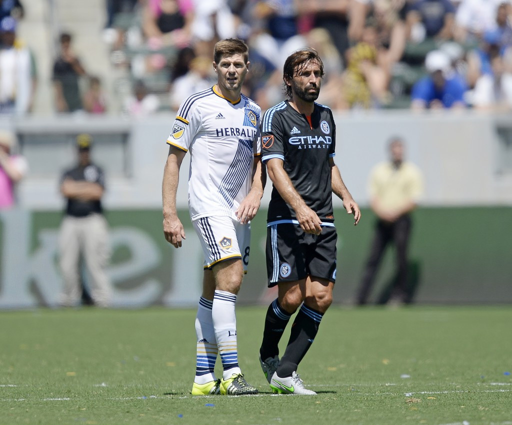 Gerrard, Pirlo and Xavi blocked from playing friendly clash in Kuwait