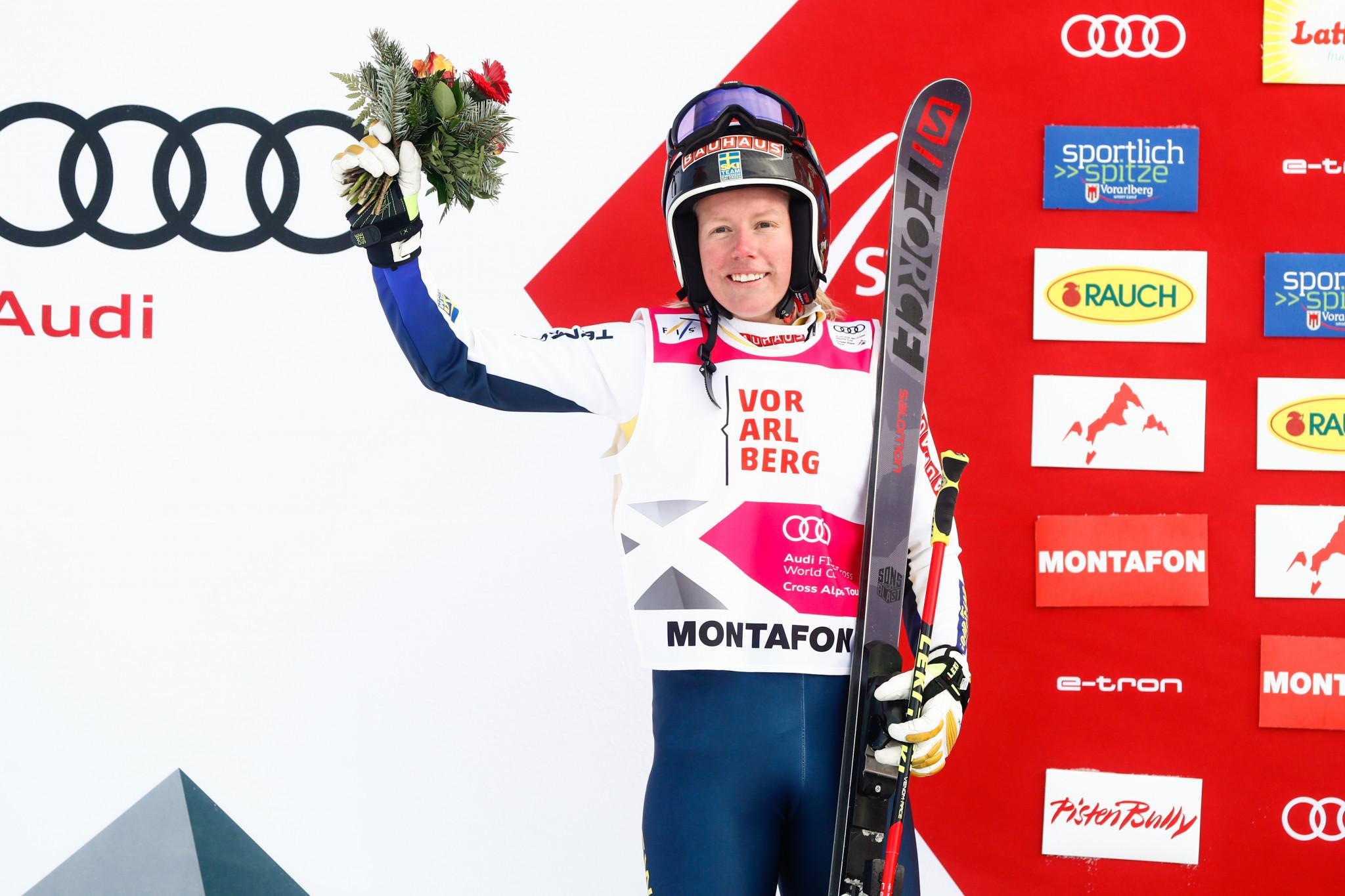 Sandra Näslund is among the ski cross training groups ©Getty Images
