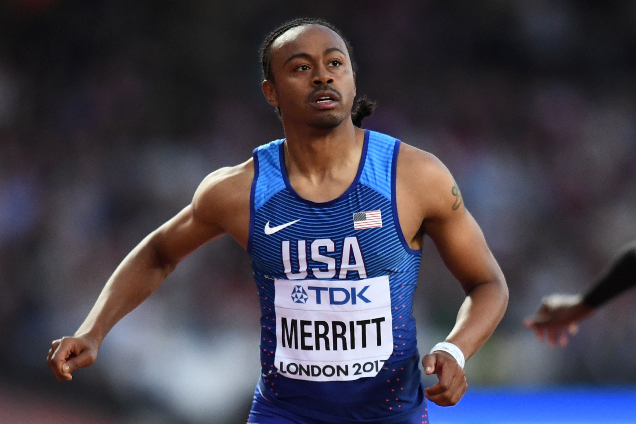 Olympic hurdles champion Merritt eyes Tokyo 2020 as his last Games